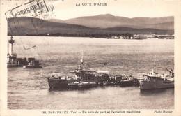 SAINT RAPHAEL - Un Coin Du Port Et L'aviation Maritime - Saint-Raphaël