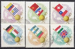 Ungarn 1962 - MiNr.1830-1835 Used - 1962 – Chili