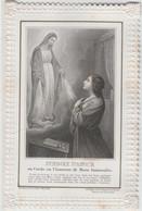 Devotie-gebed Binnenin - Devotieprenten