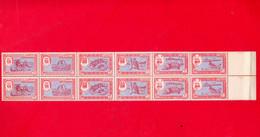1963 Trucial States AJMAN FUJEIRA UMM AL QIWAIN Mnh Unissued, 2 Sets Se-tenant Wildlife Bird Of Prey Stamps - Ajman