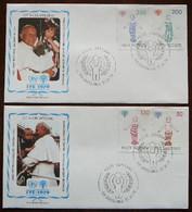 International Year Of The Child    Vatican  -  Vatikaan       FDC      Mi  755-58    Yv  685-88     1979 - Non Classificati