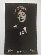 AUTOGRAPH EDITH PIAF 1915-1963 PHOTO  CHANTEUSE Photographie De Maurice Seymour. - Autographs