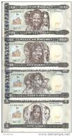ERYTHREE 1-5-10-20 NAFKA 1997 UNC P 1-2-3-4 ( 4 Billets ) - Eritrea