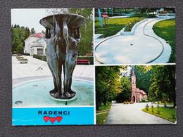 Radenci - Slovenija / Slovenia, Postcard Traveled 1975 (S3) - Slovenia