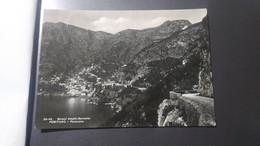 POSITANO PANORAMA STRADA AMALFI SORRENTO ANNO 1952 OTTIMO STATO - Non Classificati