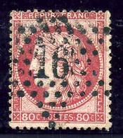 YT N°57  Obl ETOILE DE PARIS N°16 / Ceres 80c / Côte 30€ - 1849-1876: Classic Period