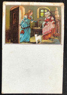 Liliput Card  6,4cm X 4,3cm. Allemagne. - Pittura & Quadri