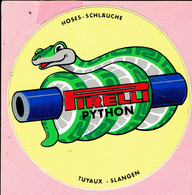 Sticker - Pirelli PYTHON - Hoses-Schäuche-Tuyaux-Slangen - Stickers