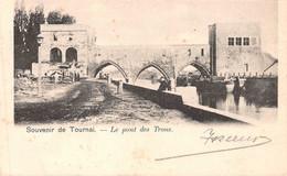 Souvenir De Tournai - Le Pont Des Trous - 1903 - Tournai