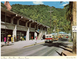 (CC 3) American Samoa - Pago Pago Main Street (with Stamp / Posted To Australia 1984) - American Samoa