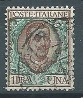 Italie YT N°73 Victor-Emmanuel III Oblitéré ° - Usados