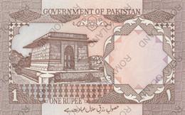 BANCONOTE 1 RUPEE PAKISTAN FDS - Pakistan