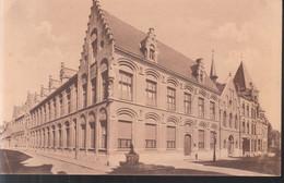 Ieper - Gesticht Der Zwarte Zusters Augustinessen (Kliniek & Rusthuis), Ingang Van 't Klooster En Der Kliniek - Ieper