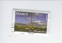 La France En Timbres Adhésif N° 335 Oblitéré 2009 - Sellos Autoadhesivos
