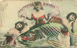Illustrateur Bergeret - Souvenir D' Avril - Femmes  T 745 - Femmes