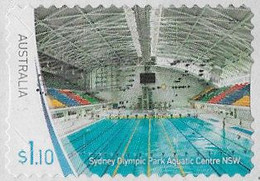 Australia 2020 Sports Stadiums $1.10 Type 3 Self Adhesive Good/fine Used [40/32618A/ND] - Used Stamps