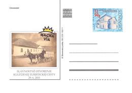 SLOVAKIA - STATIONARY POSTCARD 2011 CDV 195 Unc //Q71 - Postales