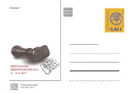SLOVAKIA - STATIONARY POSTCARD 2011 CDV 193 Unc //Q73 - Postales