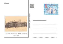 SLOVAKIA - STATIONARY POSTCARD 2011 CDV 197 Unc //Q75 - Postales