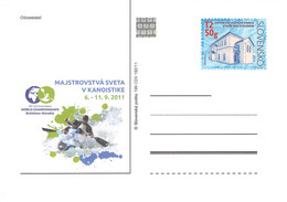 SLOVAKIA - STATIONARY POSTCARD 2011 CDV 199 Unc //Q79 - Postales