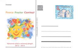 SLOVAKIA - STATIONARY POSTCARD 2012 CDV 213 Unc //Q80 - Postales