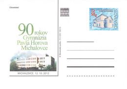 SLOVAKIA - STATIONARY POSTCARD 2012 CDV 212 Unc //Q82 - Postales