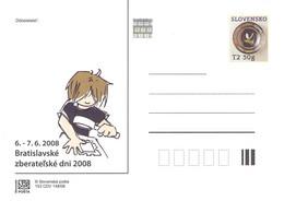 SLOVAKIA - STATIONARY POSTCARD 2008 CDV 153 Unc //Q86 - Postales