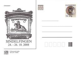 SLOVAKIA - STATIONARY POSTCARD 2008 CDV 160 Unc //Q89 - Postcards