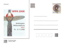 SLOVAKIA - STATIONARY POSTCARD 2008 CDV 158 Unc //Q91 - Postcards