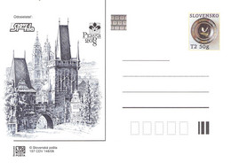 SLOVAKIA - STATIONARY POSTCARD 2008 CDV 157 Unc //Q92 - Postcards