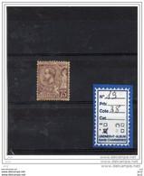 MONACO  - N° 19-  CHARNIERE* - Unused Stamps