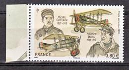 France PA 82 A 2018 Boyau Et Coiffard Avec Bord De Feuille (feuille De 10) Neuf ** TB MNH Sin Charnela Faciale 3.8 - 1960-.... Postfris