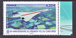 France PA 83a 2019 Concorde Avec Bord De Feuille  (feuille De 10) Neuf ** TB MNH Sin Charnela Faciale 4.2 - 1960-.... Nuovi