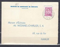 Kaart Van Ste Marie Sur Semois (sterstempel) Naar Namur - Sternenstempel