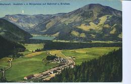 RD659 MARIAZELL , AUSBLICK V.D. BURGERALPE AUF BAHNHOF U. ERLAFSEE - Mariazell