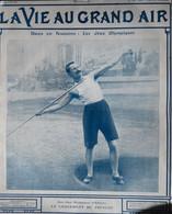 Les Jeux Olympiques D'Athènes - Le Lancement Du Javelot - Page Originale 1906 - Prints & Engravings
