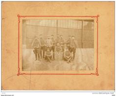 PHOTO GROUPE DU 15 EME REGIMENT DE CHASSEURS - War, Military