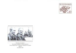 SLOVAKIA - STATIONARY ENVELOPE 2006 PUTIN Unc //Q97 - Postales