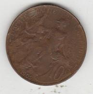 10 CENTIMES  1909 - Non Classificati