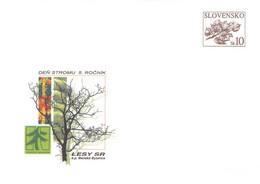 SLOVAKIA - STATIONARY ENVELOPE 2006 LESY SR Unc //Q101 - Postcards