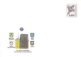 SLOVAKIA - STATIONARY ENVELOPE 2010 PAMATNIKA Unc //Q105 - Postcards