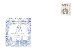 SLOVAKIA - STATIONARY ENVELOPE 2010 DUBNICA NAD VÁHOM Unc //Q108 - Postcards