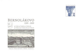 SLOVAKIA - STATIONARY ENVELOPE 2009 BERNOLÁKOVO Unc //Q111 - Postcards