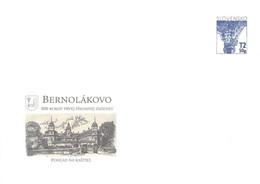 SLOVAKIA - STATIONARY ENVELOPE 2009 BERNOLÁKOVO Unc //Q113 - Postcards