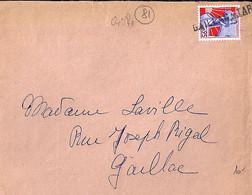 81 . TARN . GAILLAC * TARN . TàD De Type  GRIFFE . 196? - Manual Postmarks