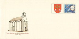 SLOVAKIA - STATIONARY ENVELOPE 2013 CHURCH Unc //Q121 - Postcards