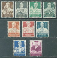 REICH - 1934 - MNH/**  -  NOTHILFE SECOURS D'HIVER - Mi 556-564 Yv 513-521 - Lot 22992 -QUOTE 550.00 EUR !!! - Unused Stamps
