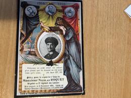 Nicolas Roquet Brigadier 2 Reg Lanciers *1893 Leignon Ciney +1918 Tombe Champ D'honneur Booitshoeke Heerwillemskapelle P - Overlijden