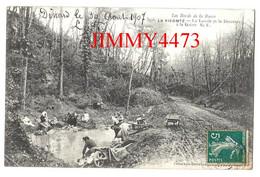 CPA - LA VICOMTE En 1907 - Le Lavoir Et La Descente à La Grève ( Bien Animée ) 22 Côtes-du-Nord - Coll.Germain N° 3996 - Dinan