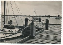 L'AIGUILLON SUR MER (85. Vendée) Le Port, Ponton - Autres Communes